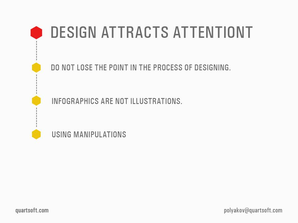 design attracts attebtion
