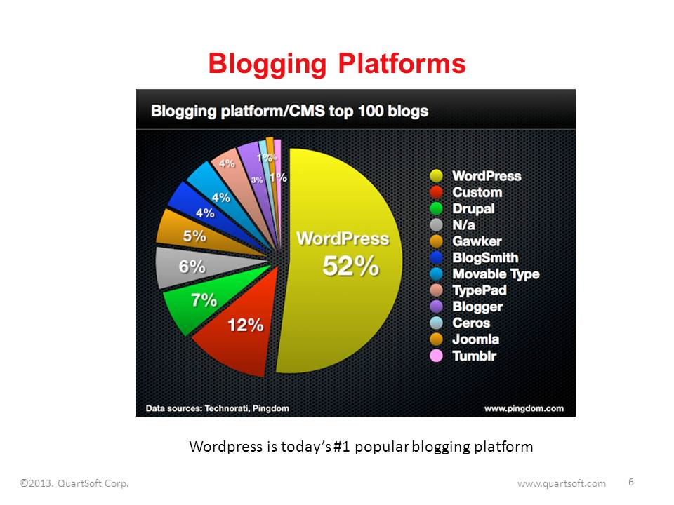 blogging platforms usage