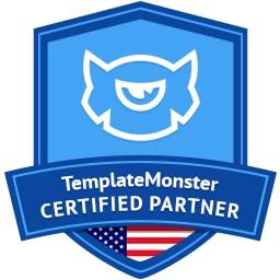 Certified TemplateMonster partner