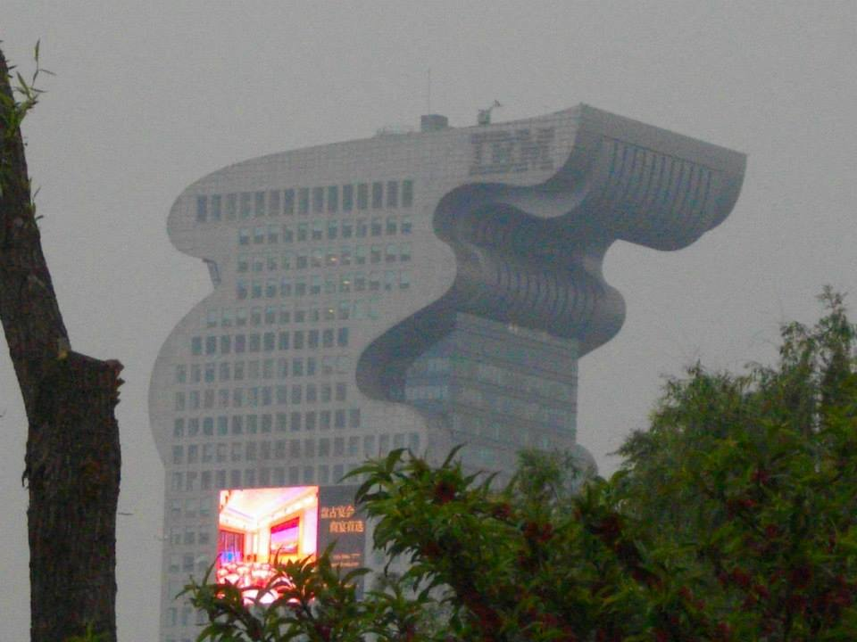 Modern architecture of beijing reflects the economic power of china