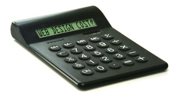 cost of website building, price of web design