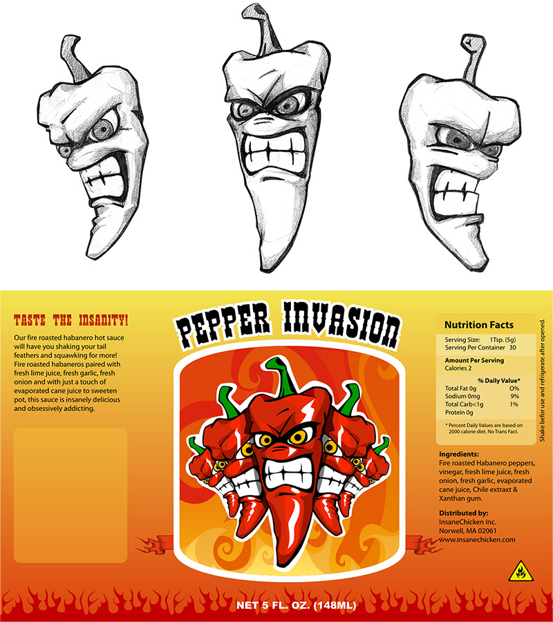 custom web design, pepper company design