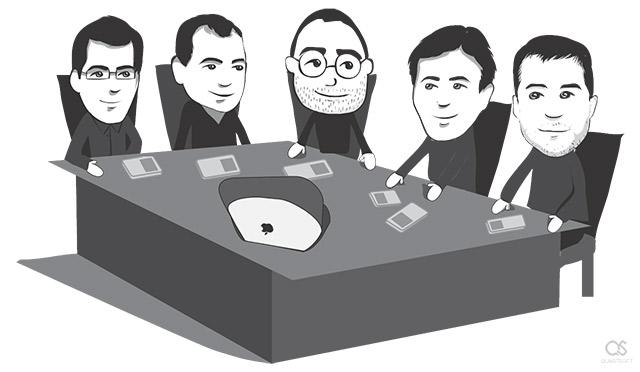 The iPod team