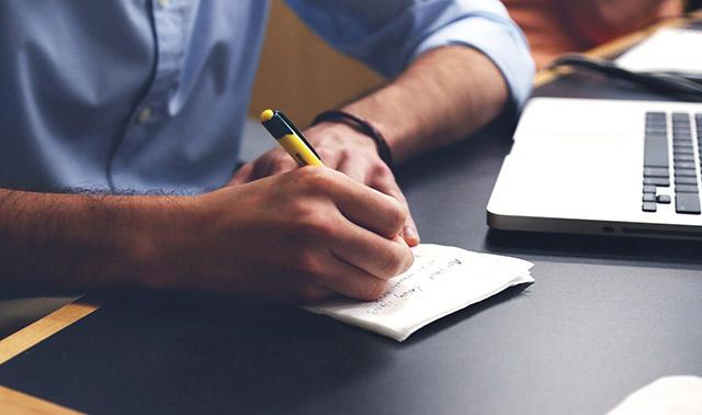 Launching start-up with writing skills