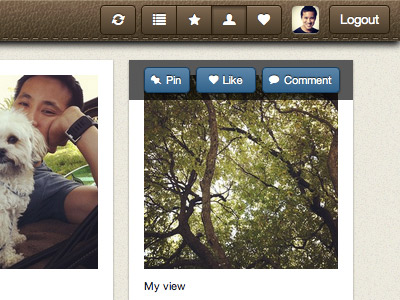 Pinstagram - mashup of Instagram and Pinterest