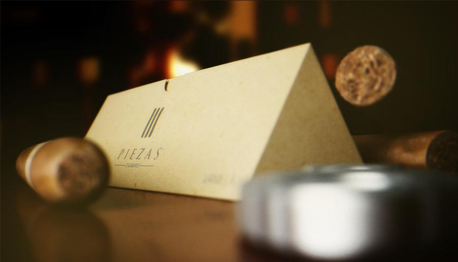 3D Cigar Packaging