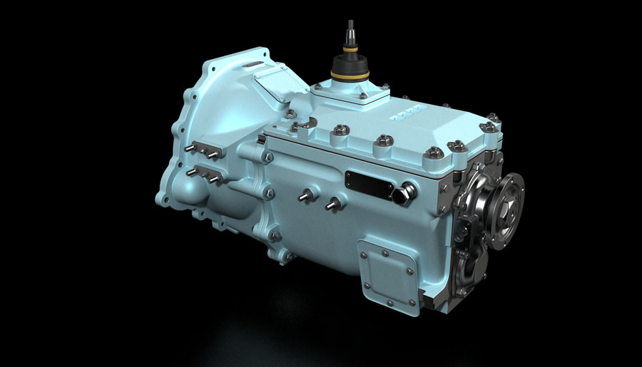 Gear Box 3D Animation
