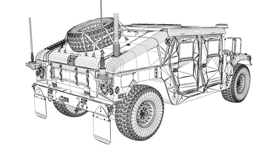 M1145 Humvee