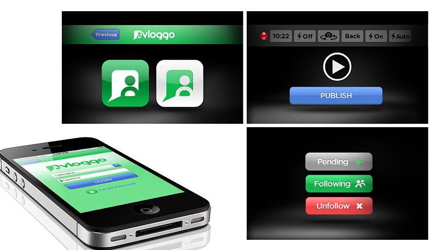 Vloggo - Video Sharing iPhone Application