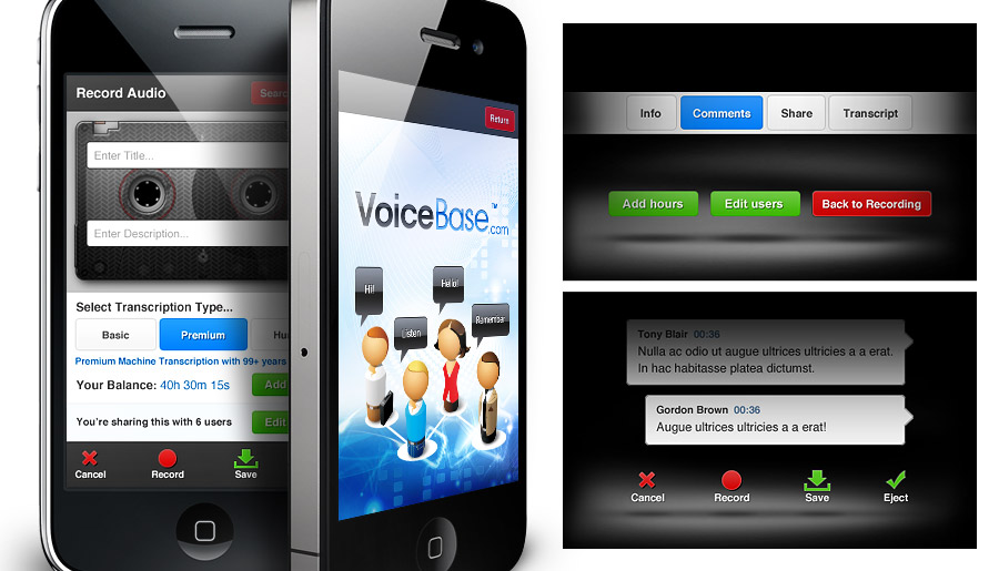 Voicebase - Speech to Text App