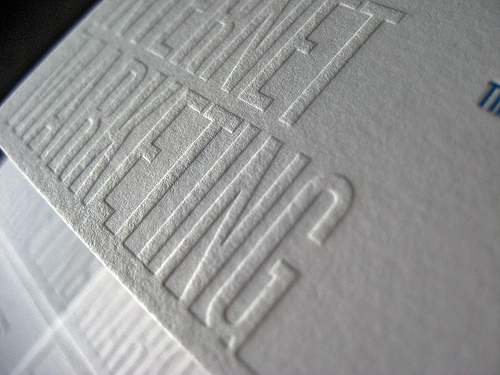 Raised Printing a Higher Level of Printing