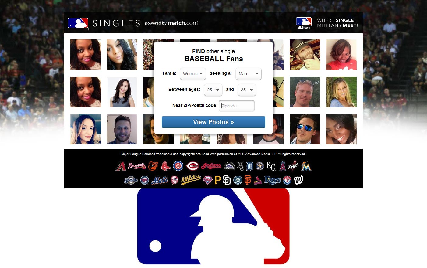 online dating sports fans