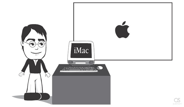 Steve Jobs launches iMac