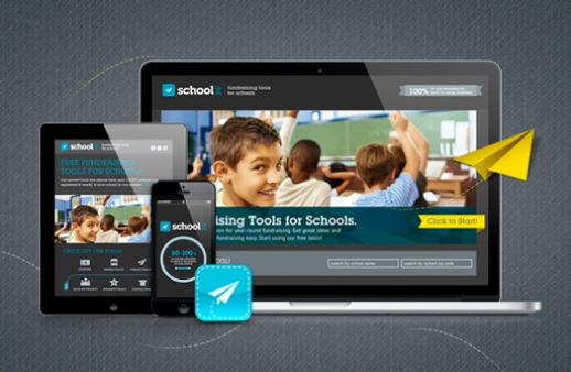 Schoolit: groupon-like site and mobile app for fundraising