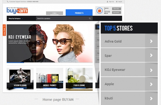Buyam: Online Shopping Mall for Nigerian eCommerce Market