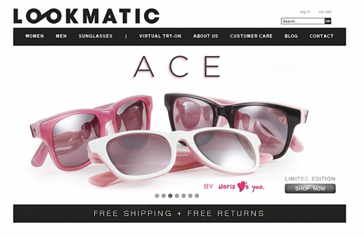 Lookmatic: Online Store for Eyewear Vendor