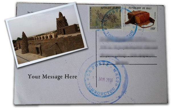 Postcards from Timbuktu online business