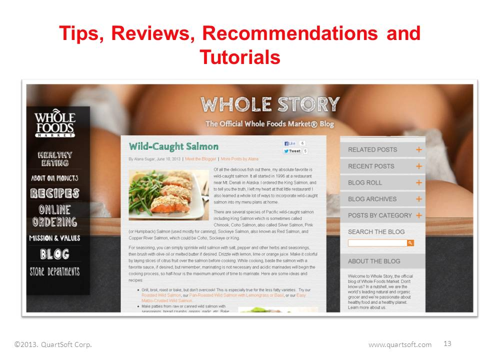 Tips, reviews, recommendations and tutorials blog